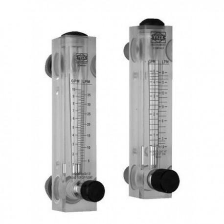 Ротаметр панельный Z-300KT1 0,5-4 л/мин, с регулятором потока
