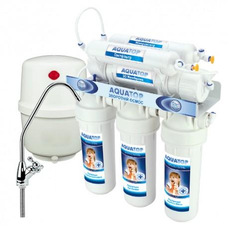 Система очистки STLRO-6-50G-JG без помпы с минерализатором_рд