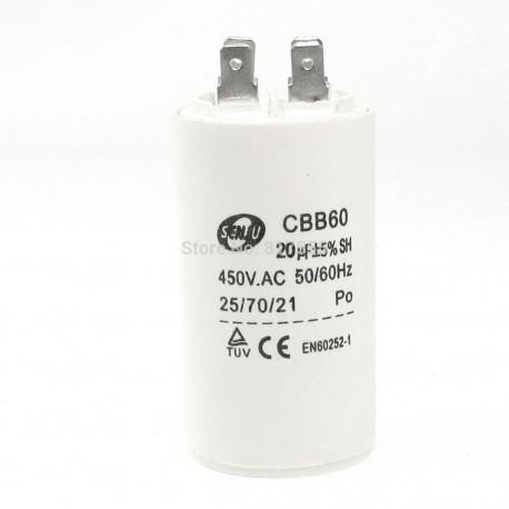 Конденсатор 20 мкФ, 450В