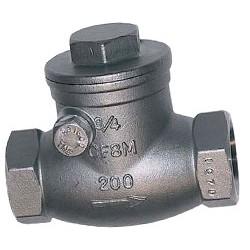 """Обратный клапан, (нежавеющая сталь) 1/2"""""""