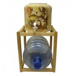Подставка на 1 бутыль деревянная